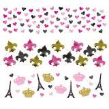 """Lot de confettis """"La ville de l'amour"""" 34 g"""