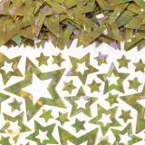 """Confettis """"Pluie d'étoiles"""" 15 g - or"""