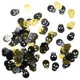 """Confettis """"Têtes de mort""""  15 g"""