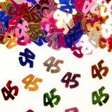 """Confettis """"45 ans"""" 14 g"""