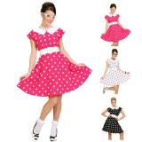 "Costume ""50's Lady"" avec jupon 2 pcs."