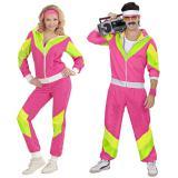 """Costume """"Survêt années 80"""" pour femme 2 pcs"""