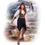 """Costume """"Femme pirate sans peur"""" 4 pcs"""
