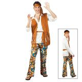 "Costume ""Hippie Deluxe"" 4 pcs"