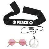 """Kit d'accessoires """"Hippie"""" 3 pcs."""
