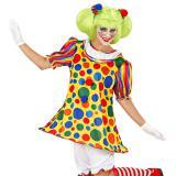 """Costume pour femme """"Clown foufou"""" 4 pcs."""