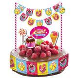 """Déco pour gâteau """"Candy"""" 10 pcs."""