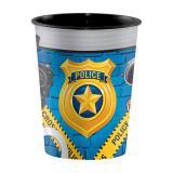 "Gobelet en plastique ""Police cool"" 473 ml"