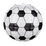 "Lampion ""Fou de foot"" 24,5 cm"