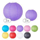 Lampion uni 3 pcs