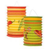 "Lanternes ""Happy Fiesta!"" 16 cm 2 pcs"