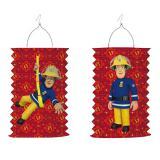 """Lanterne """"Sam le pompier courageux"""" 28 cm"""