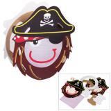 "Lanterne à monter ""Pirate"" 8 pcs"