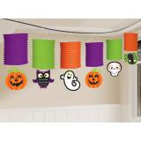 "Guirlande de lanternes ""Halloween coloré"" 3,65 m"