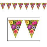 "Guirlande de fanions ""Hibiscus"" 3,7 m"