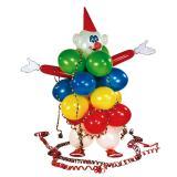 """Kit de décoration """"Ballons clown"""" 53 pcs"""