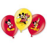 """6 ballons de baudruche """"Mickey est heureux"""""""