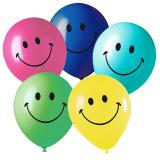"5 ballons  ""Smiley"""