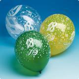 Ballons de baudruche 18 ans 5 pcs