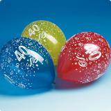 Ballons de baudruche 40 ans 5 pcs