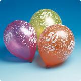 Ballons de baudruche 50 ans 5 pcs