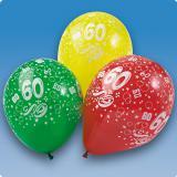 Ballons de baudruche 60 ans 5 pcs