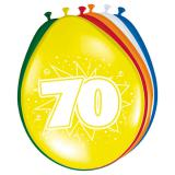"""8 ballons """"70 Ans"""""""