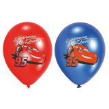 "6 ballons de baudruche ""Cars - Flash McQueen"""