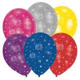 """Ballon de baudruche """"Feux d'artifices"""" 6 pcs."""