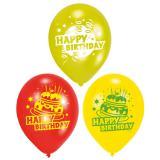 """6 ballons """"Gâteau d'anniversaire"""""""