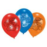 "6 ballons de baudruche ""Blaze et les Monster Machines"""