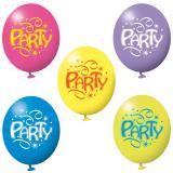 6 ballons festifs