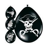 """8 ballons """"Trésor de pirates"""""""