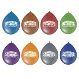"""8 ballons de baudruche """"Skylanders Giants"""""""