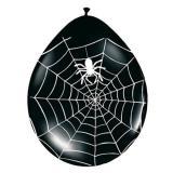 """8 ballons """"Toile d'araignée"""" 30 cm"""