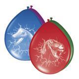 """6 ballons de baudruche """"Dinosaures aventuriers"""""""