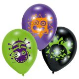 "6 ballons de baudruche ""Freaky Monster Show"""