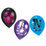 """Ballons de baudruche """"Saint Silvestre"""""""