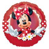 """Ballon en alu gonflé """"Minnie Mouse"""" 17 cm"""
