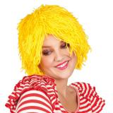 "Perruque rigolote en laine ""Good Feeling"" - jaune"