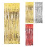 """Rideau de porte à franges métallisées """"Glamour"""" 241 cm"""