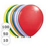 """Ballons de baudruche métallisés """"Haut en couleur"""" 30 cm"""