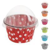 "Mini caissettes à muffins ""Polka Dots"" 3 cm"