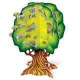 "Arbre pièces & billets 3D ""Money Tree"""
