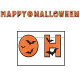"Guirlande avec motifs ""Happy Halloween"" 340 cm"