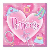"""16 serviettes en papier """"Princess"""""""