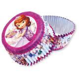 """24 caissettes à muffins et à cupcakes """"Princesse Sofia"""""""