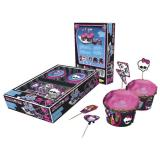 "Décos pour muffins ""Monster High"" 48 pcs"