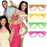 """4 paires de lunettes fluos """"Avalanche de couleurs"""""""