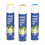 Spray fluo pour cheveux - lavable 100 ml - bleu fluo